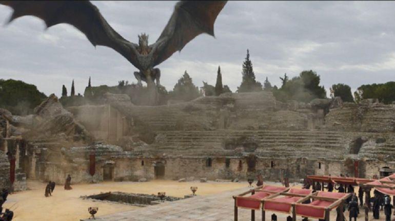 Itálica - Pozo Dragón, Juego de tronos (T7)